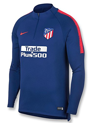 Nike 2018-2019 Atletico Madrid Drill Training Top (Royal Blue)