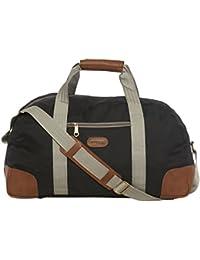BagsRUs Ares Black Medium 40 Liter Duffel Gym Tote Travel Hand Bag (DF112FBL)
