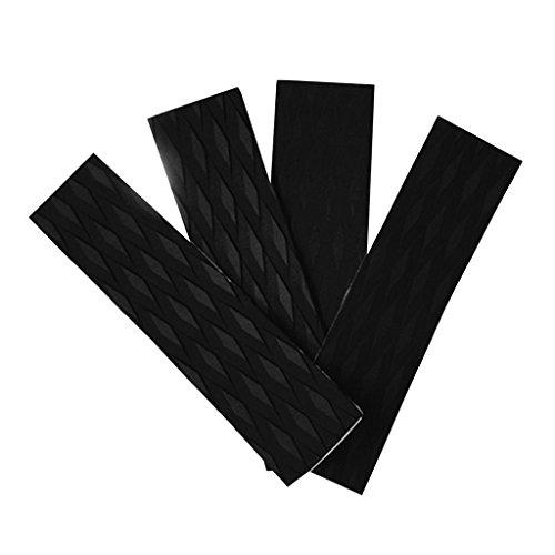 Especificación:      Material: EVA   Tamaño (L x A x Alt): Aprox. 12,2 x 3,15 x 0,2 pulgadas / 31 x 8 x 0,5 cm   Cantidad: 4 Piezas        El paquete incluye:      4 piezas almohadillas de tracción de tabla de surf        Nota:      Por favor...