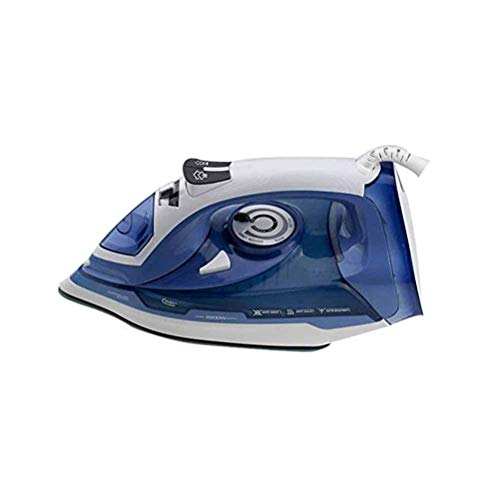 Jiahe Mini Electric Iron Home Wired Steam Iron Corded 2200 W Ceramic Electronic Steam Iron for Home and Hotel,B