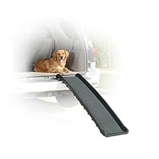 PetSafe Solvit Ultrlite Bi-Fold Pet Ramp, Compact and Lightweight 41s4aSYXymL