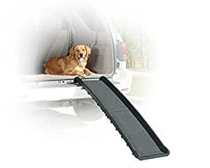 Solvit PetSafe Ultrlite Bi-Fold Pet Ramp, Compact and Lightweight