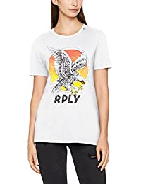 Replay Women's Eagle Print Shirt T-Shirt