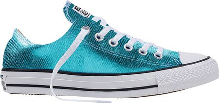 Converse Womens CT All Star Ox Canvas Trainers Fresh Cyan