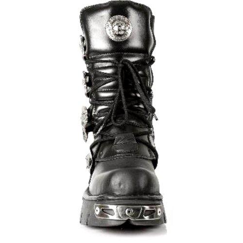 New Rock Boots Unisex Stiefel - Style 391 S1 schwarz Schwarz