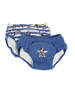 Mothercare Disney 2 Pack Mickey Mouse Small Size Potty Training Pants (Blue/White)