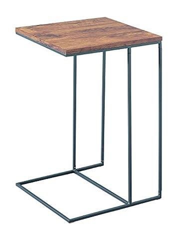 Alana d'aspect en bois Top Canapé Side End Table pour ordinateur portable/support de console de canapé, bois,