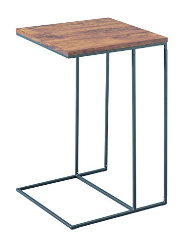 ASPECT Alana Wooden Top Sofa Side End Laptop Table/Sofa Couch Console Stand, Wood, Vintage