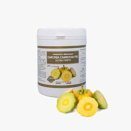 Garcinia Cambogia Più - 240 Compresse da 1400 mg- 60% HCA