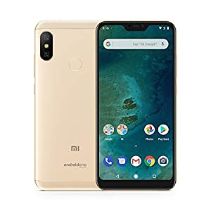 "Xiaomi Mi A2 Lite - Smartphone 5.84"" (4G, Snapdragon 625, RAM 3 GB, memory 32 GB, GBal chamber 12+5 MP, Android) Golden colour"