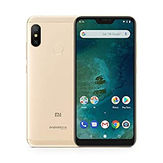 "Xiaomi Mi A2 Lite - Smartphone de 5.84"" (4G, Snapdragon 625, RAM de 3 GB, Memoria de 32 GB, cámara Dual de 12+5 MP, Android) Color Dorado (B07KWQLCJQ) 