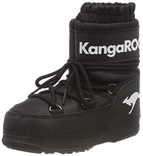 KangaROOS Unisex-Kinder K-Moon Schlupfstiefel, Schwarz (Jet Black 5001), 38/39 EU