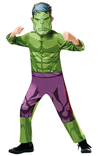 izielles Marvel Avengers Hulk Classic Kind costume-large Alter Höhe 128cm, Jungen, 7–8 (Avengers Halloween-kostüme Für Kinder)