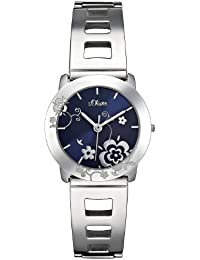 s.Oliver Damen-Armbanduhr Quarz Analog SO-2181-MQ