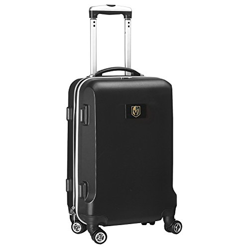 DENCO NHL Vegas Golden Knights Carry-On Hardcase Spinner, Black