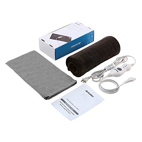 Gwertipab Manguera de ducha Manguera flexible de repuesto de acero inoxidable de 2 m con 2 arandelas para ba/ño juego de 2