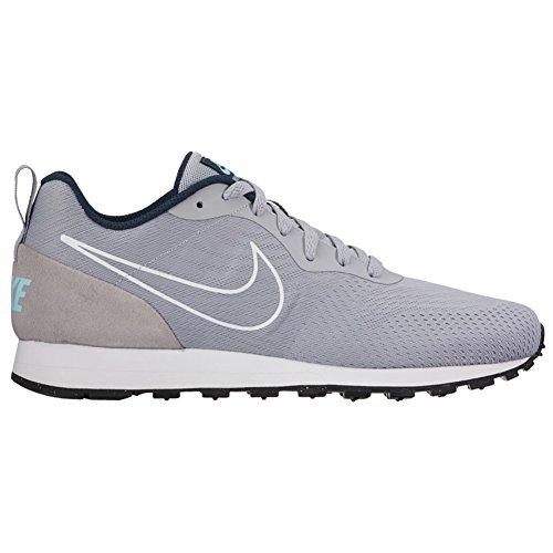Nike MD Runner 2 BR, Scarpe da Ginnastica Uomo wolf grey-wolf grey-amory navy (902815-001)