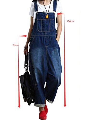 MatchLife -  Pantaloni  - Donna Style1 Bleu Foncé