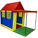 deAO TPH Outdoor & Home Happy Tent Playhouse With Canopy and Windows
