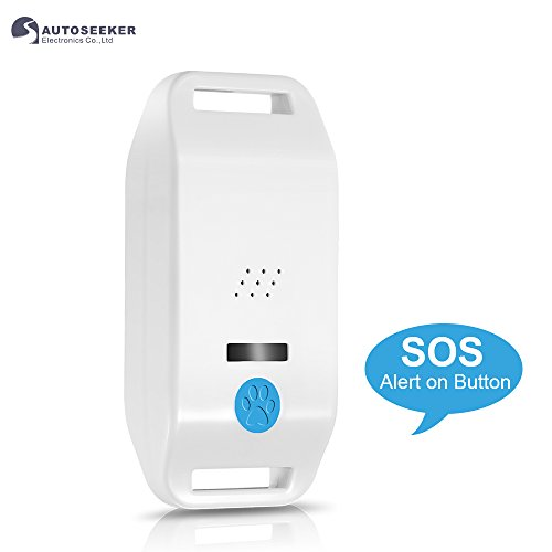 Mini gps tracker impermeabile,activity monitor per cani, gatti e non solo | funziona con iphone, android, smarphones, tablets