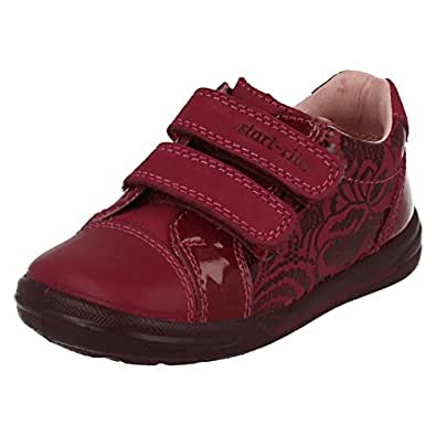 Girls Startrite Casual Shoes Flexy-Soft Milan Berry Patent/Leather Size 5F