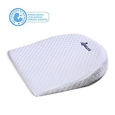 Aurelius Baby Sleep Pillow Reflux Pillow Wedge for Crib/Cot/Bed/Bassinet