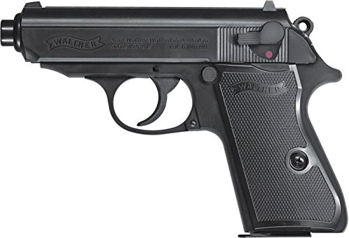 Softair Pistole Walther PPK/S, Federdruck