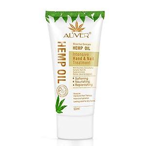 Crema Hidratante para Manos con Aceite de cañamo Orgánico Loción Hidratante y Suavizante para Manos Cuidado Hidratante para Manos Vegano