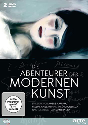 Die Abenteuer der Modernen Kunst, 2 DVD-Videos Arte Kunst