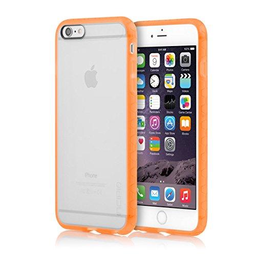 Incipio iPhone 6S Plus Case, Octane Fall [,], geeignet für Apple iPhone 6Plus, iPhone 6S Plus-Frost/Neon Orange