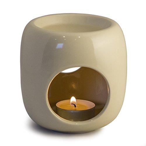 Sabai Scent Pure - Keramik Duftlampe / Duftlicht - natur
