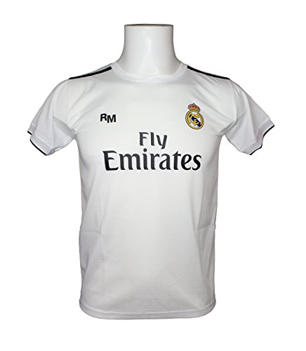 Real Madrid FC Camiseta Adulto Replica Oficial Primera Equipación 2018 2019  (XXL) e3d4a7ef7