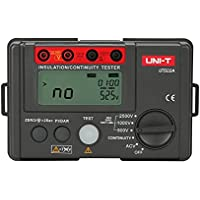 UNI-T 7720182ut500serie probador de resistencia de aislamiento, rojo/gris