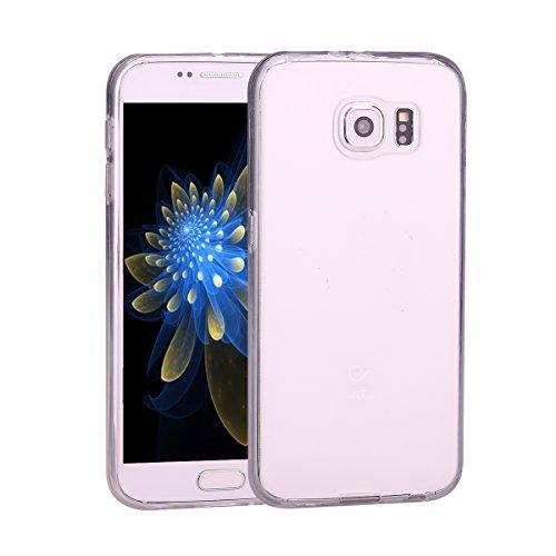 Galaxy S6 Clear,Galaxy S6 SM-G920 Custodia Lucida in TPU Silicone,Asnlove Clear Trasparente Ultra Sottile Silicone (Black Cherry Chitarra)