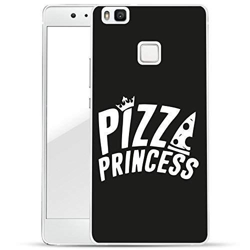 Finoo Huawei P9 Lite Hard Case Handy-Hülle mit Motiv | dünne stoßfeste Schutz-Cover Tasche in Premium Qualität | Premium Case für Dein Smartphone| Pizza Princess M9 Mobile