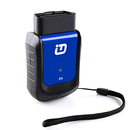 Preisvergleich Produktbild vpecker E4 OBD2 Bluetooth Scanner,  Professional Auto Full System OBDII Fault Code Reader Diagnostic Scanner Support ABS Bleeding / Akku / DPF / EPB Öl-Reset / TPM / Injektor kompatibel mit Android & Windows Geräte