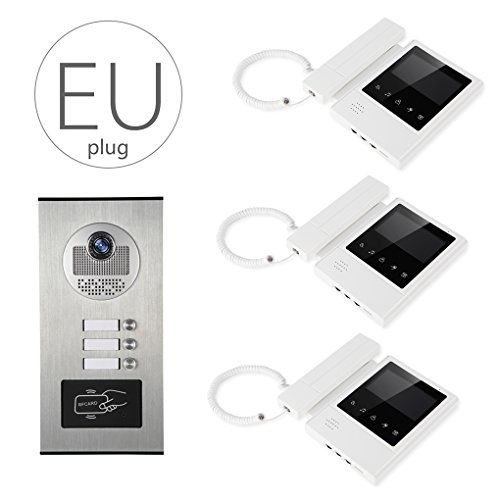 LUFA V43E168-530-3 Video portero automático con sistema de video portero Sistema de...