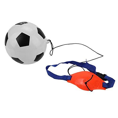 Alomejor Fußball Kick Trainer Kinder Fußball Trainingshilfen Gürtel für Kinder Erwachsene Hände frei mit Verstellbarem Gürtel -