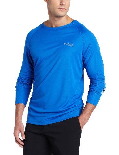 Columbia-angeln-shirt (Columbia PFG Angeln Terminal Tackle LS Shirt, Long Sleeve Jacke xl Lebhaftes Blau)