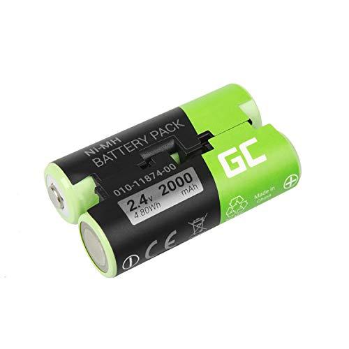 Garmin Pack (Green Cell® Akku für Garmin Oregon 700 (NI-MH Zellen 2000mAh 2.4V Schwarz))