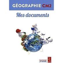 Géographie CM2 - Livrets Mes documents (pack de 6)
