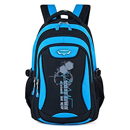 Mochilas Escolares, Fanspack Mochila Escolar para niños Mochila Colegio para niñas Mochilas de Viaje para Mochila Infantil Juveniles Adolescentes (Azul Cielo)