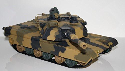RC Panzer M1 A2 Abrams ferngesteuerter US Kampfpanzer schiesst Kugeln Licht RTR schiesst 25 Meter-mit Munition+Zielscheibe+Beleuchtung