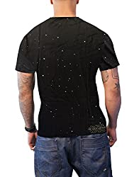 Star Wars T Shirt X Wing Tie Fighter Dog Fight Official Mens Black Sub Dye by Star Wars Merch