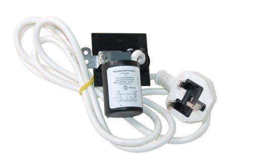 Ariston Creda Hotpoint Indesit Waschmaschine Netzkabel und Filter. Original Teilenummer c00203264