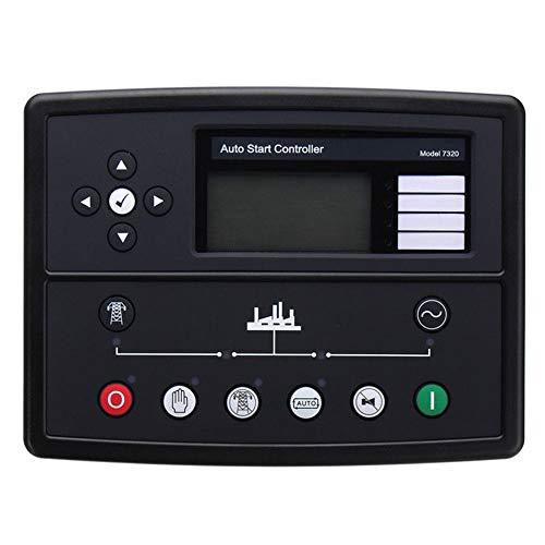 Elektronik-Steuerung, professionelle Generator-Teile, Auto-Monitor-Panel, Ersatz für Start, langlebiges Werkzeug-Zubehör-Modul für DSE7320 -