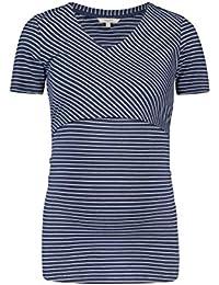 Noppies Top Nurs SS Nia Yd, Camiseta de Tirantes premamá para Mujer