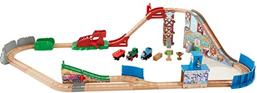 "Thomas & Friends DFW97 ""Wooden Railway Race Day Relay"""