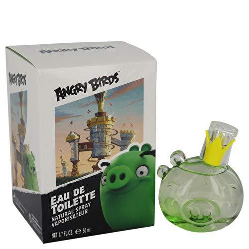 Air Val International Angry Birds King Pig by Eau De Toilette Spray (Unisex) 1.7 oz / 50 ml (Women)