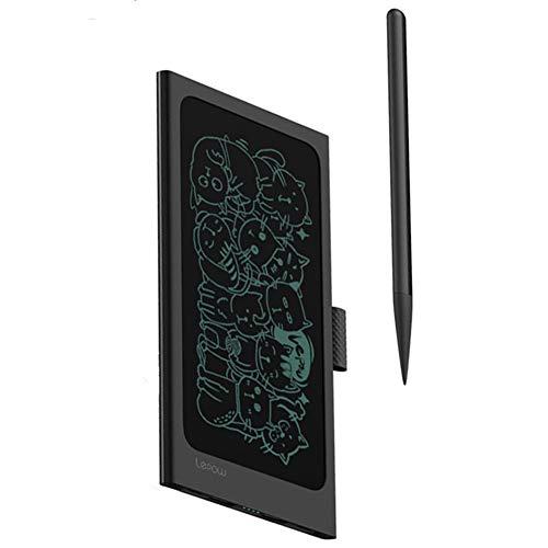 Tavoletta grafica lcd scrittura digitale tesoro di ricarica da 10000 mah potere mobile tablet lcd da 6,5 pollici tavoletta grafica lavagna elettronica piccola riunione d'affari,black